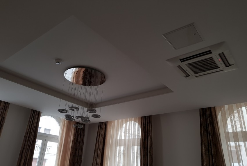 11. Luxury 3 mode LED lights, Fire alarm, Ceiling ACs