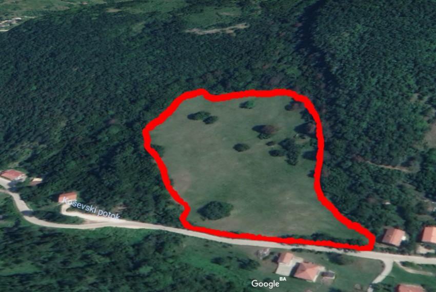Radava Google Earth - krupni plan