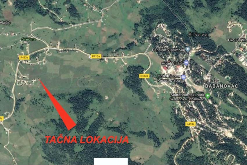 Tačna lokacija Vl