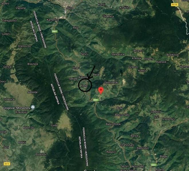 lokacija Jevadzike